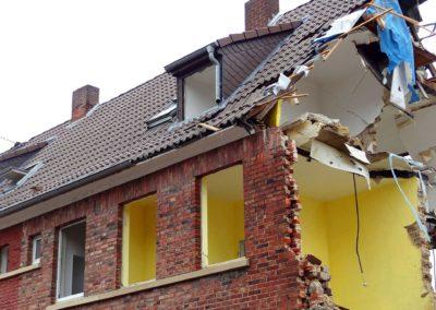 Démolition totale d'une maison en Ile de France