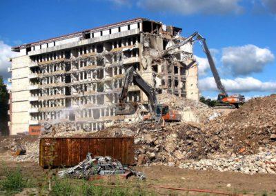 Démolition immeuble en Ile de France