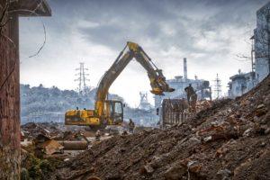 demolition usine ile de france